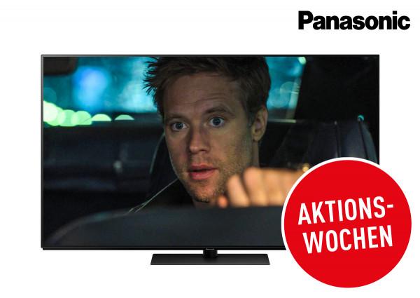 Panasonic Cashback Aktion: Panasonic TX-55GZW954 OLED Fernseher Ansicht vorne 1