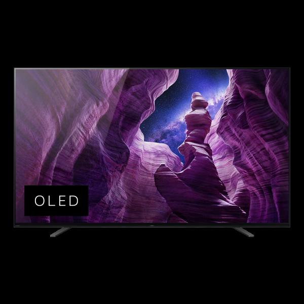 Sony A8 KD-65A8BEAP OLED TV - Ansicht vorne 1